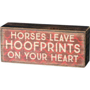 Horse Signs & Wall Decor