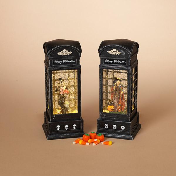 Halloween water globe lanterns