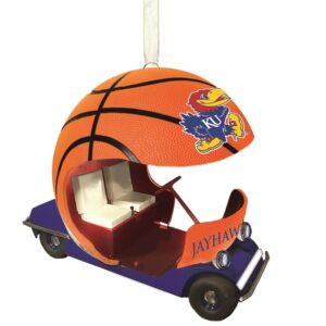 Kansas basketball ornament