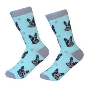 blue heeler socks