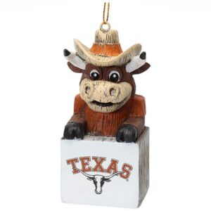 texas mascot ornament