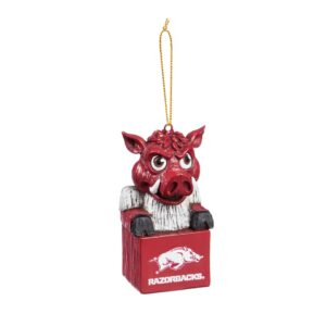 Arkansas mascot ornament