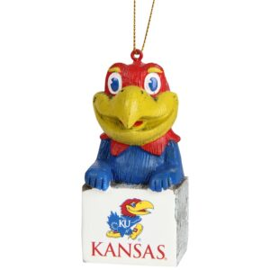 kansas mascot ornament