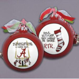 Ceramic Alabama Ornament-Stockings