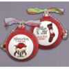 Ceramic Arkansas Ornament-Stockings