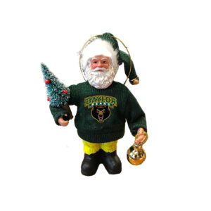 Baylor Santa Ornament