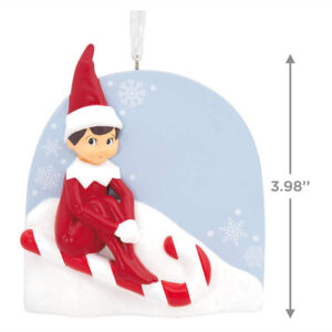 Elf on the Shelf Ornament - Candy Cane