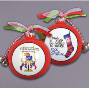 Ceramic Kansas Ornament-Stockings