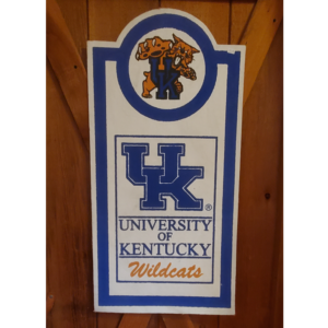 Kentucky Burlap Decor