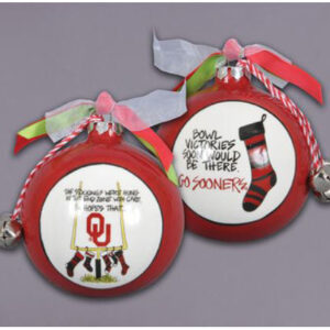 Ceramic OU Ornament-Stockings