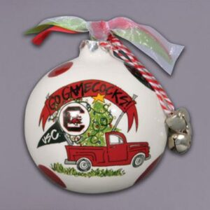 Ceramic South Carolina Ornament-Truck