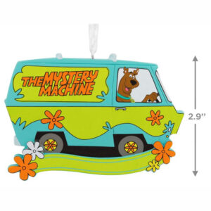 Scooby Doo Mystery Machine Ornament - Personalized