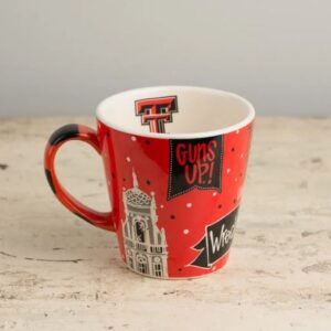 Ceramic Texas Tech Mug