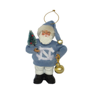 North Carolina Santa Ornament