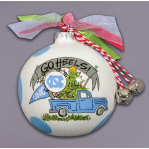 Ceramic North Carolina Ornament-Truck