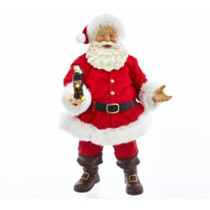 Coca-Cola Santa with LED bottle