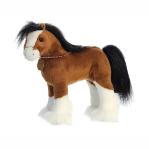 "13"" Breyer Plush Clydesdale Horse"