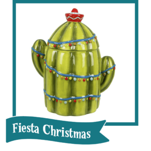 Fiesta Christmas button