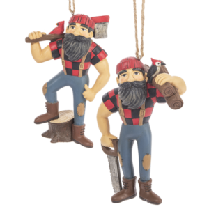 Paul Bunyan Lumberjack ornament