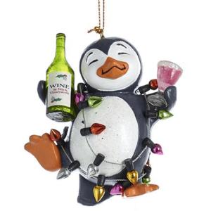 party penguin ornament