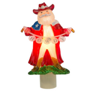 Texas Santa nightlight