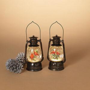 cardinal water globe lanterns