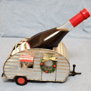 camper wine holder